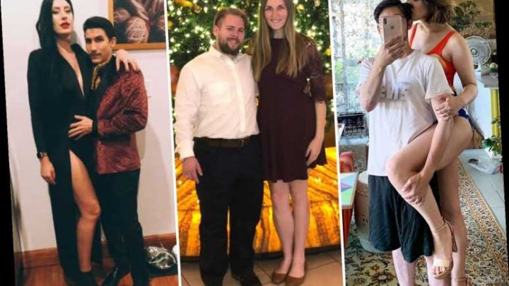 Women who date shorter men are sharing their success stories to prove size really DOESN'T matter