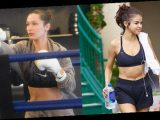 15 Celebs Doing Activities To Workout: Bella Hadid Boxing, Selena Gomez At Pilates & More