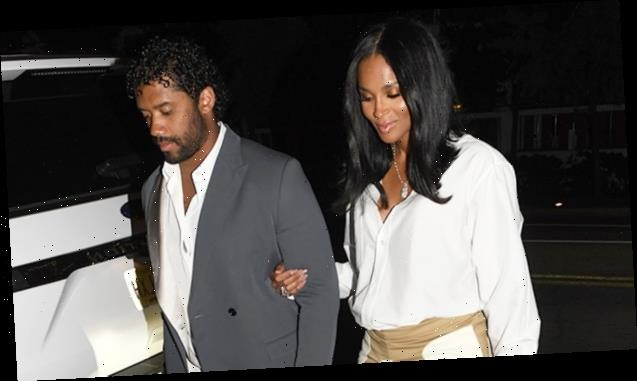 Ciara Shows Off Baby Bump In Mini Skirt On Date Night After Announcing 3rd Pregnancy