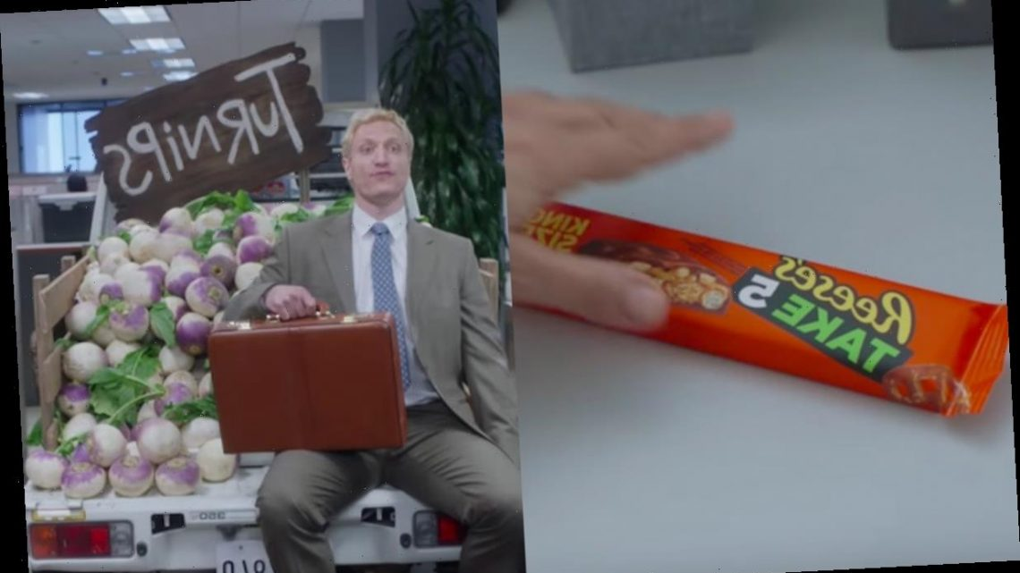 Reese's 2020 Super Bowl Commercial Is Basically Filled With Dad Jokes