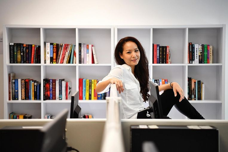 Singapore's Marie Kondo in the making
