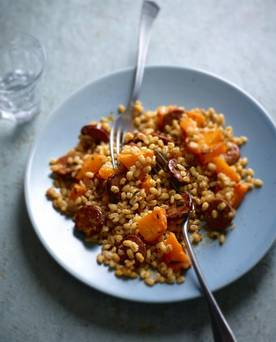Rachel Allen: 'This creamy, velvety risotto is comfort food at its best'