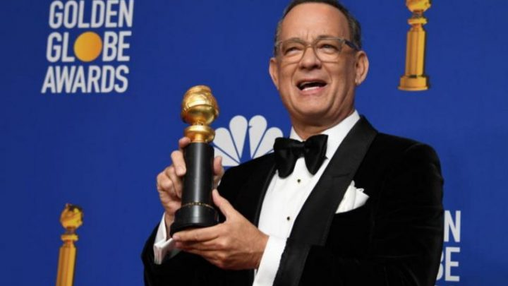 Golden Globes: Tom Hanks in tears after getting lifetime achievement award