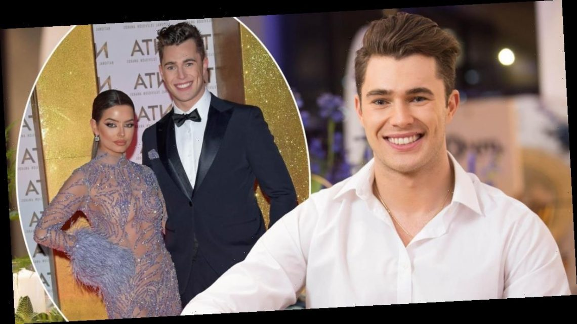 Curtis Pritchard and Maura Higgins reveal how they'll beat the Dancing On Ice curse