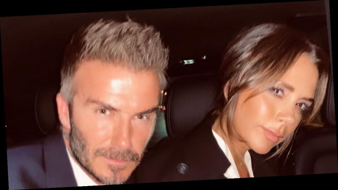 David Beckham still has 23 year old train ticket Posh first wrote her number on
