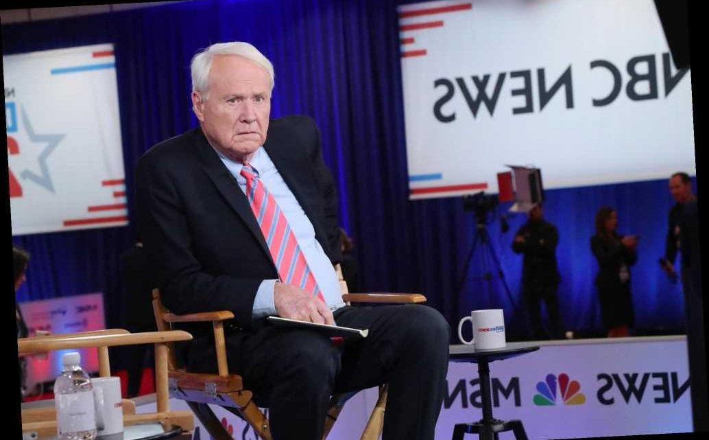 Chris Matthews accused of 'inappropriately flirting' with female guest