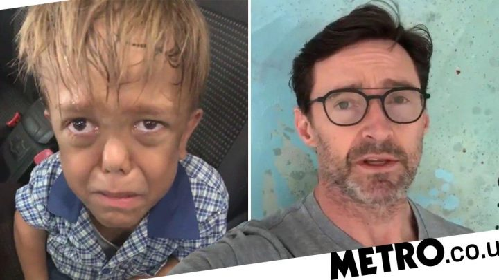 Hugh Jackman reaches out to bullied boy, 9, who wanted to kill himself