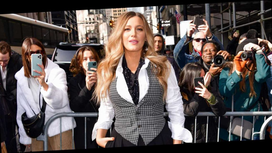 """Blake Lively on Motherhood: """"I'm Just Obsessed with My Kids"""""""