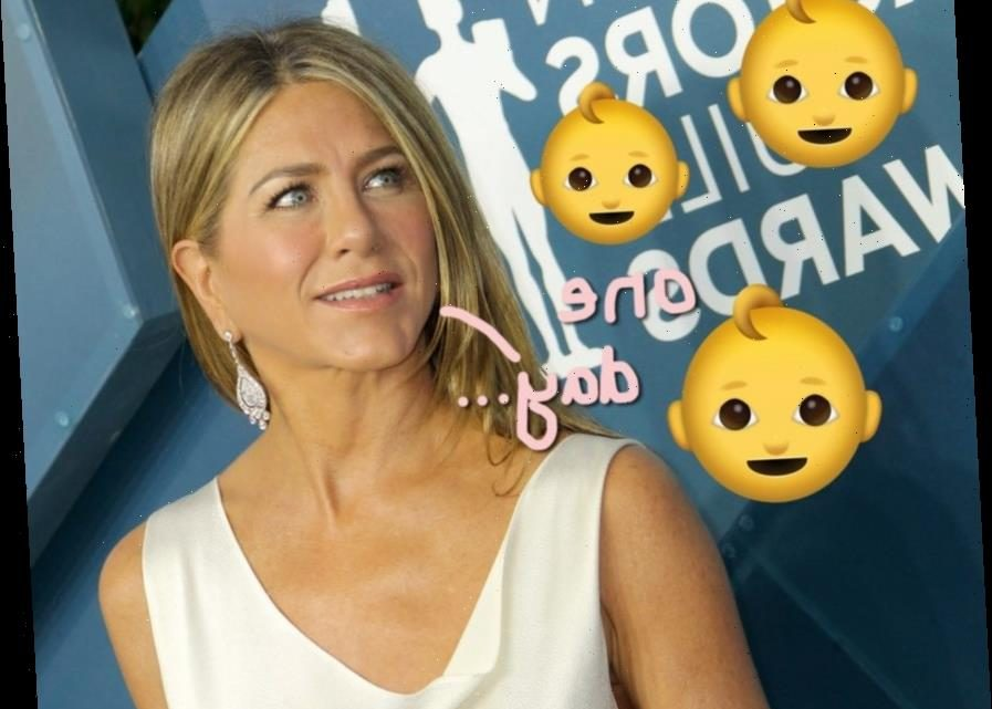 Jennifer Aniston Says She Sees 'Kids Running' Around In Her Future!