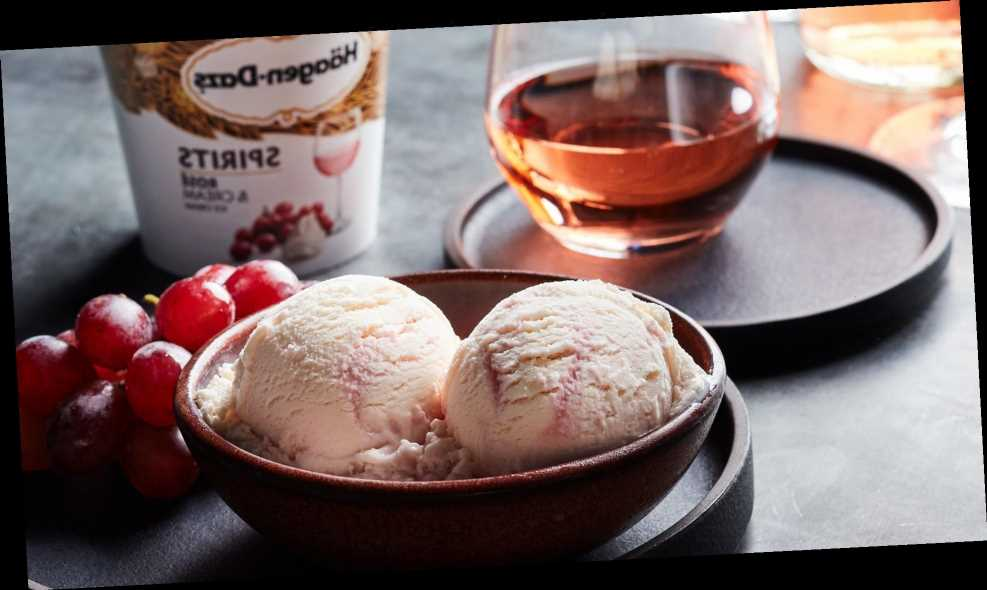 With This New Häagen-Dazs Flavor You'll Never Have to Choose Between Wine and Dessert Again