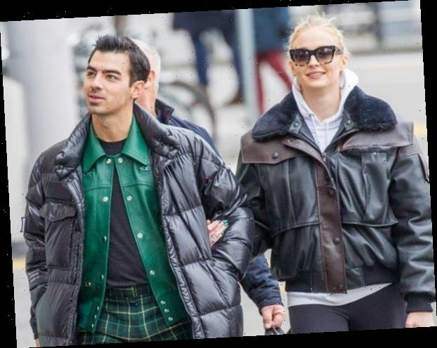 Joe Jonas & Sophie Turner Step Out for First Time Since Pregnancy News