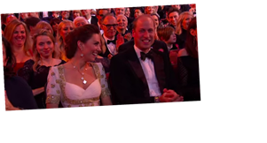 Brad Pitt Joked About Prince Harry in Front of William and Kate at the BAFTAs