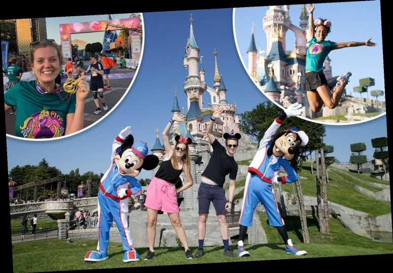 Get swept along by childhood favourites on a fancy-dress race weekend at Disneyland Paris – The Sun
