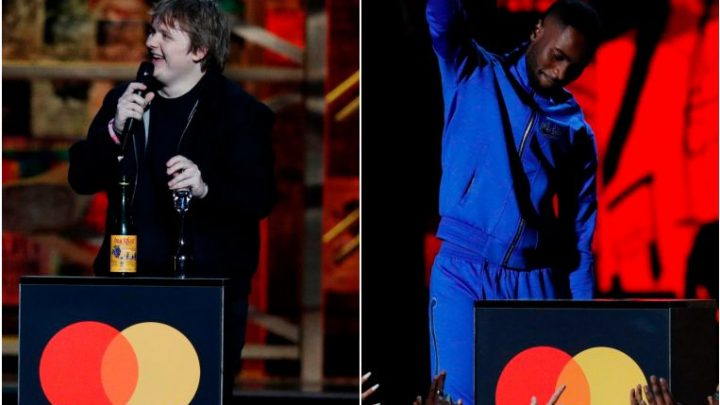 Brit Awards: Lewis Capaldi and rapper Dave steal show honouring British musicians