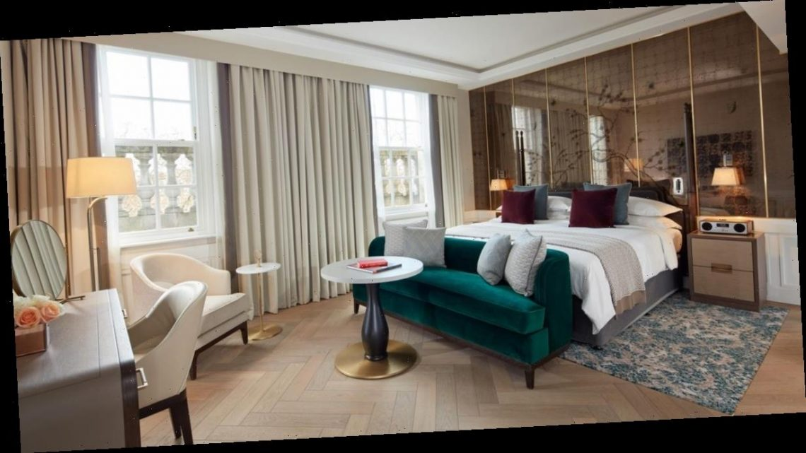 Inside the £2,600-a-night hotel suites with private butlers and in-room bars