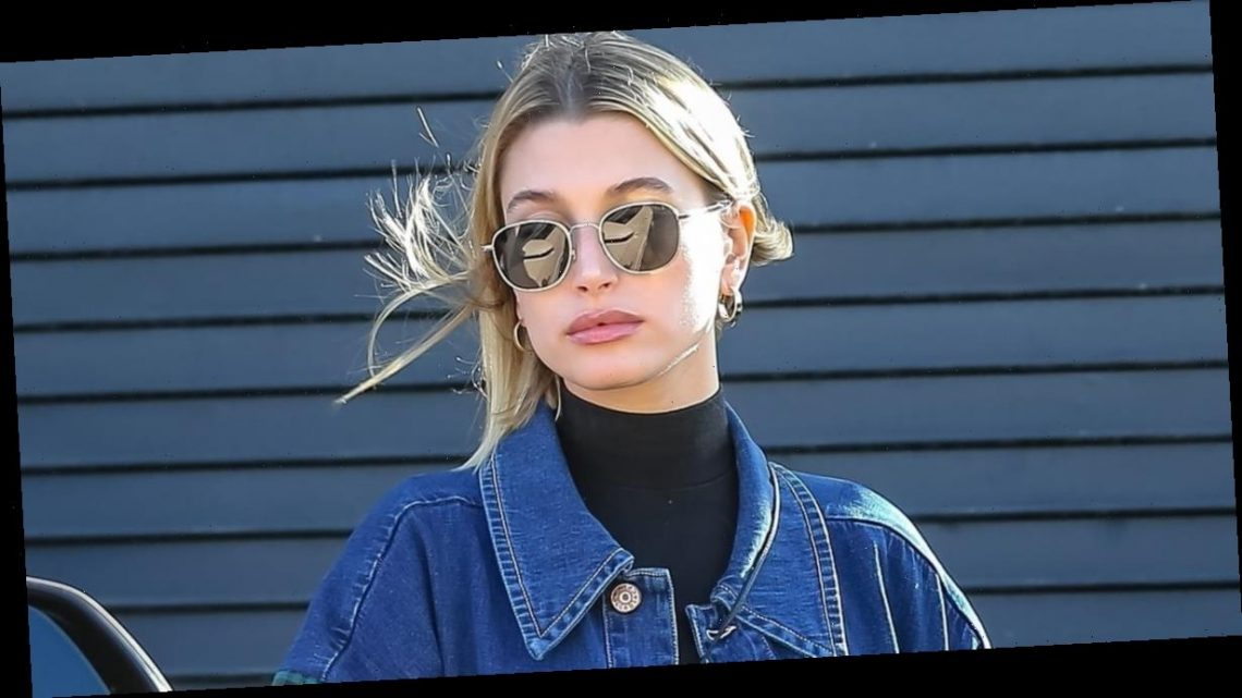 Hailey Bieber Looks Like She Could Be Part of a '90s Girl Band in This Outfit