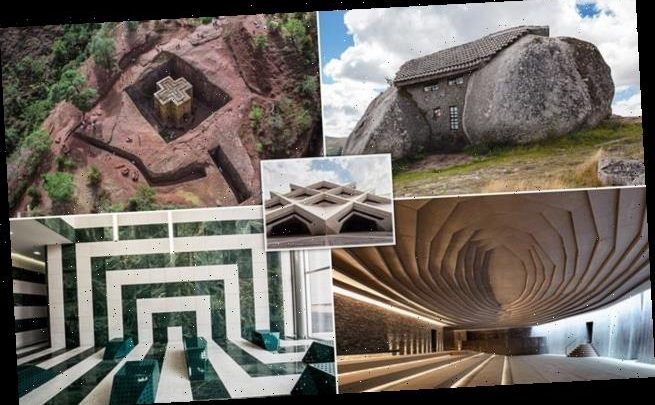 Incredible images show the world's most amazing stone structures