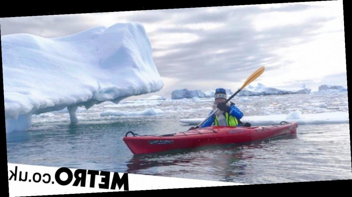 Humpback whales and icebergs: A kayaking adventure in Antarctica