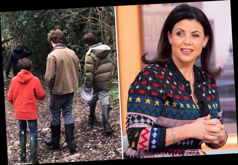 Kirstie Allsopp slammed after fleeing to Devon as husband diagnosed with Covid-19