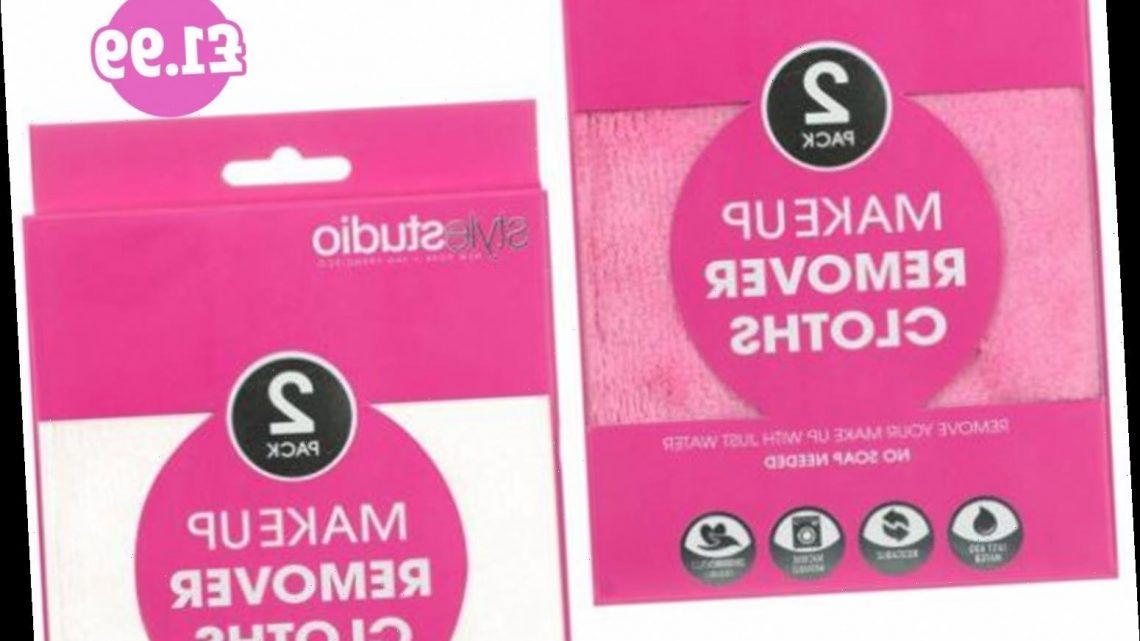 Beauty fans rave over B&M's £1.99 facial cloths which remove 'every little bit of make-up' using nothing but water