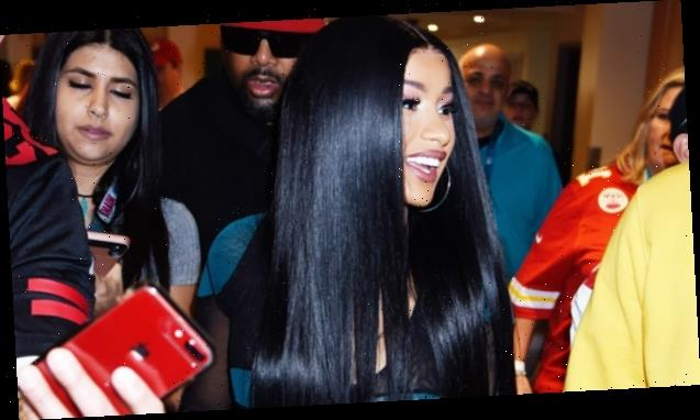 Cardi B Shows Off Her Natural Hair & Fans Gush Over How Beautiful It Looks — Watch