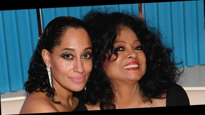 Tracee Ellis Ross Posted the Best '90s Throwback Photo With Mom Diana Ross