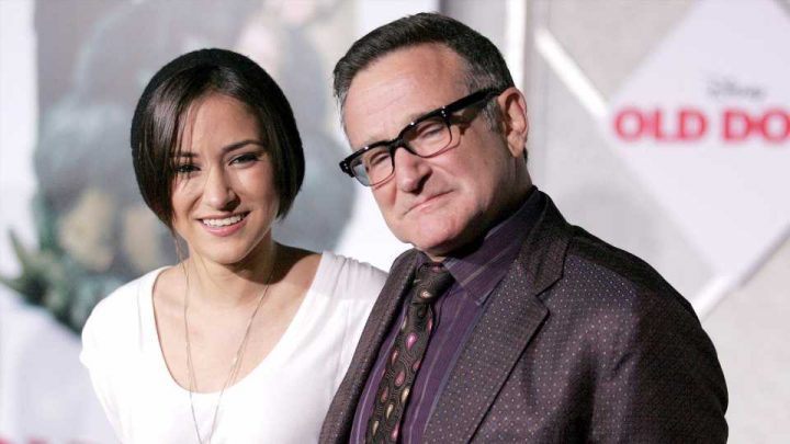 These Throwback Photos of Robin Williams & His Daughter Are Too Sweet