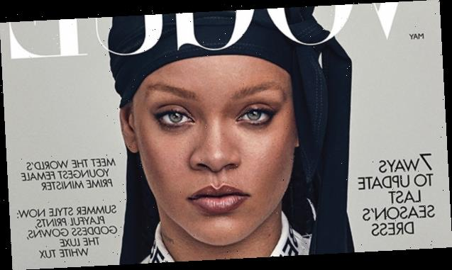 Rihanna Is First 'British Vogue' Cover Star To Rock A Durag & Channels Princess Leia's Buns