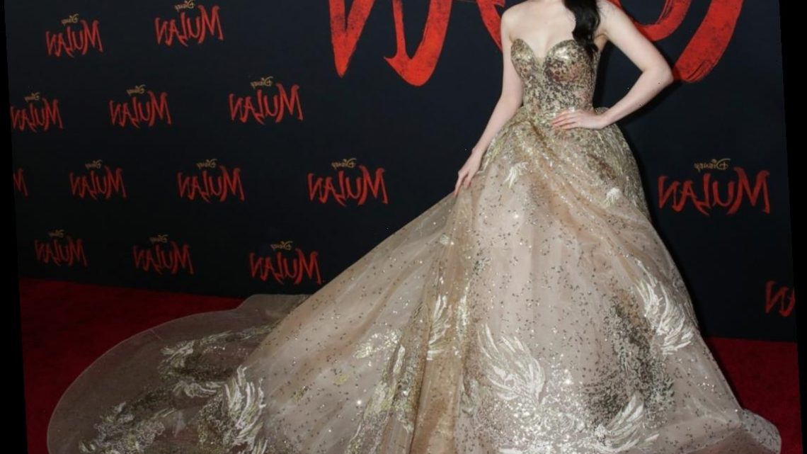 Liu Yifei in an epic Elie Saab gown at the 'Mulan' premiere: stunning or too much?