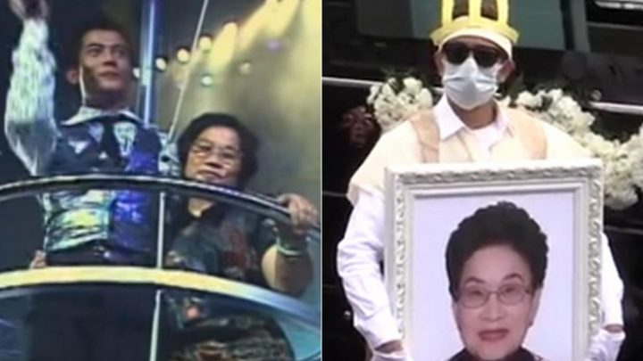 Aaron Kwok's mother laid to rest on Thursday