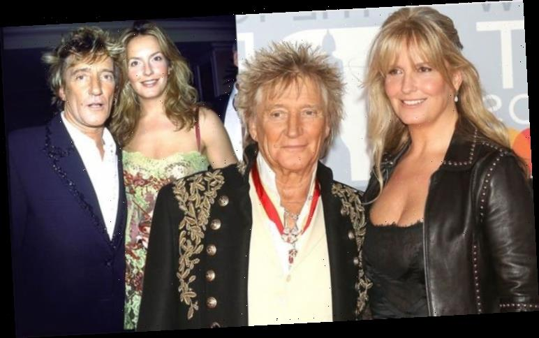 Rod Stewart admits wife Penny Lancaster 'was just a shy little person' before they met