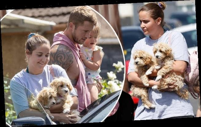 Jacqueline Jossa and Dan Osborne put on united front amid split claims