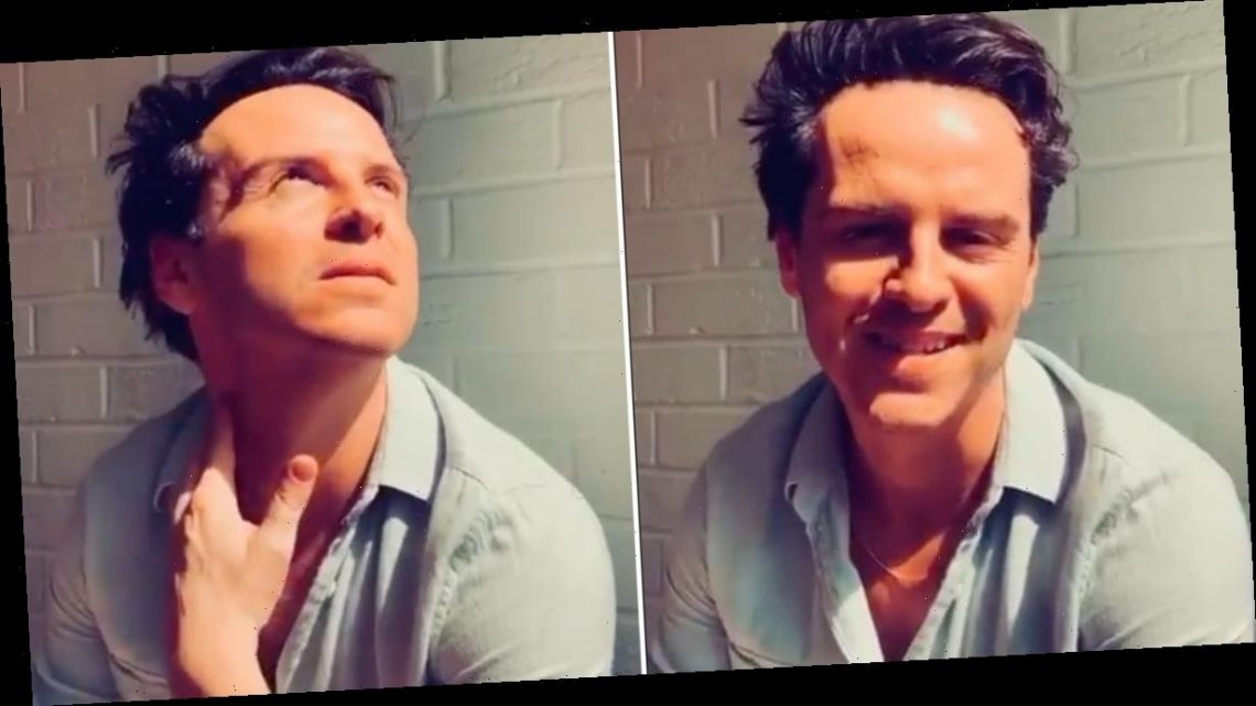 Thank Me Later For This Gorgeous Video of Hot Priest Andrew Scott Reading a Hopeful Poem