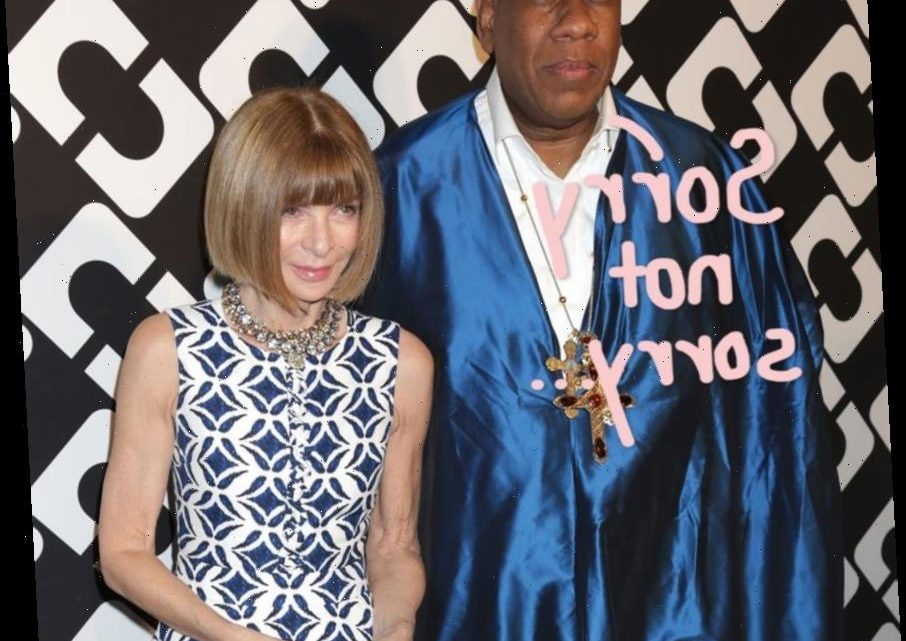 André Leon Talley Says He's In 'An Iceberg' With Anna Wintour After Slamming Her In His Tel