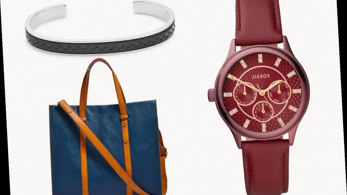 Fossil's outlet sale knocks up to 70% off across watches, bags, wallets and jewellery