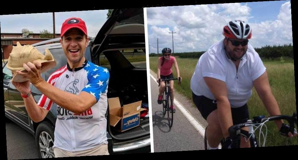 This Cyclist Wanted to Keep Up on Group Rides, So He Lost 200 Pounds