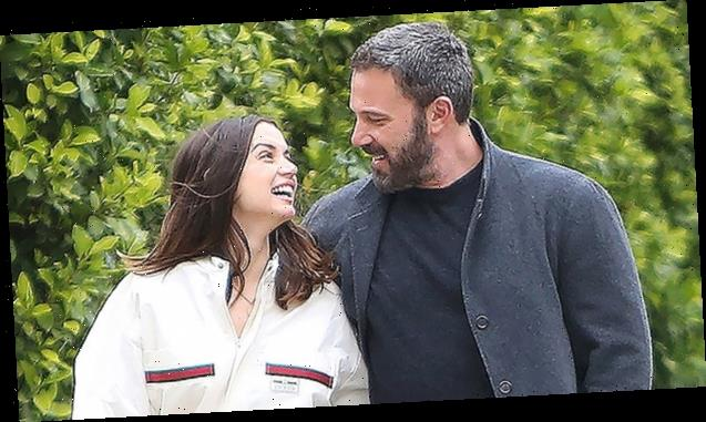 Ben Affleck, 47, Passionately Kisses Ana De Armas, 32, In Steamy New Music Video — Watch