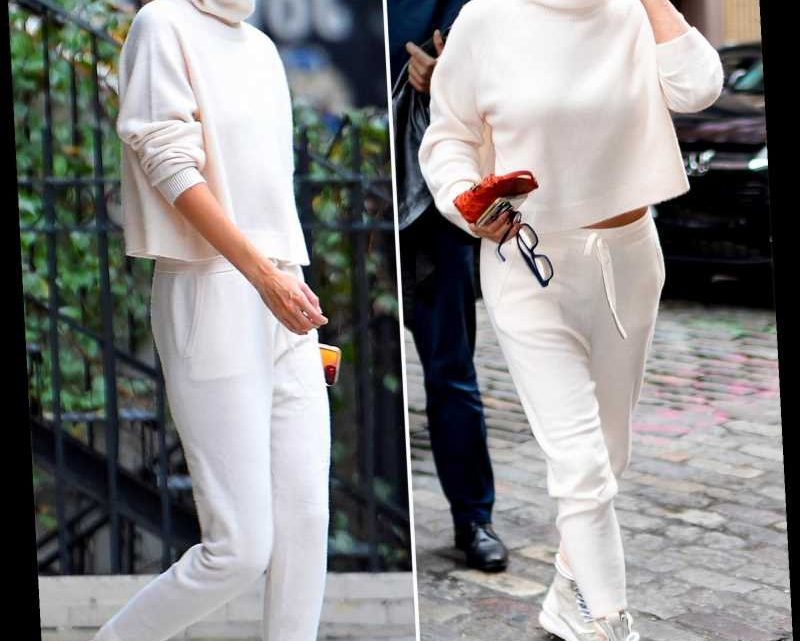 Yolanda Hadid Wears the Same Cashmere Set as Gigi One Day Later – and More Celebrity Moms and Kids Who Raid Each Others' Closets