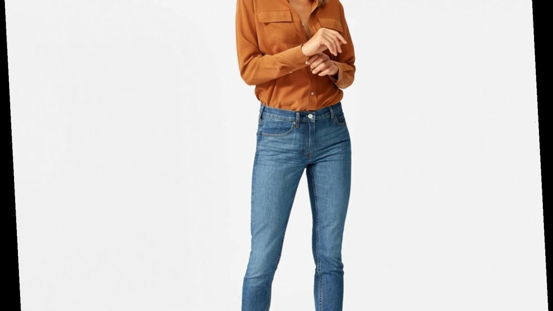 The Everlane Jeans that Had a 45,000-Person Waitlist Are Now on Sale for Under $40