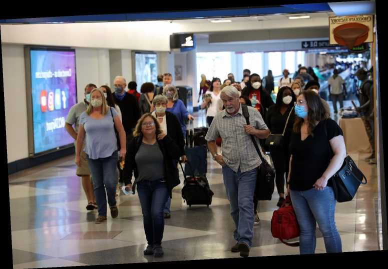 Fuming Passengers Wait in Long Lines at North Carolina Airport Over Holiday Weekend