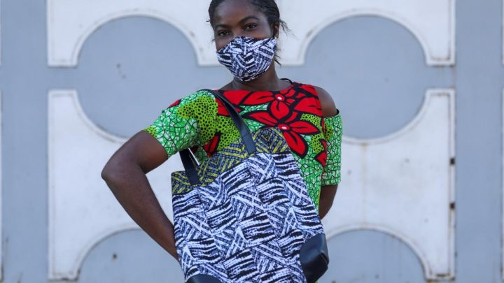 Style-conscious Africans turn compulsory masks into fashion accessories