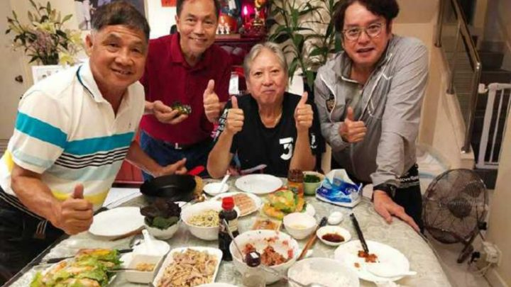 Hong Kong actor-director Sammo Hung looks thin in recent photos with singer Alan Tam