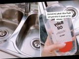 Mum claims baby oil is the secret to getting your sink sparkling in seconds