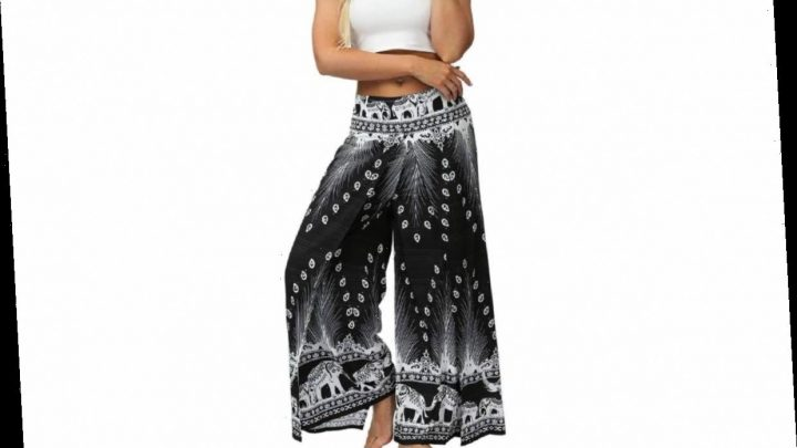 These Breezy Boho Pants Have a Surprise Feature That's So Stylish