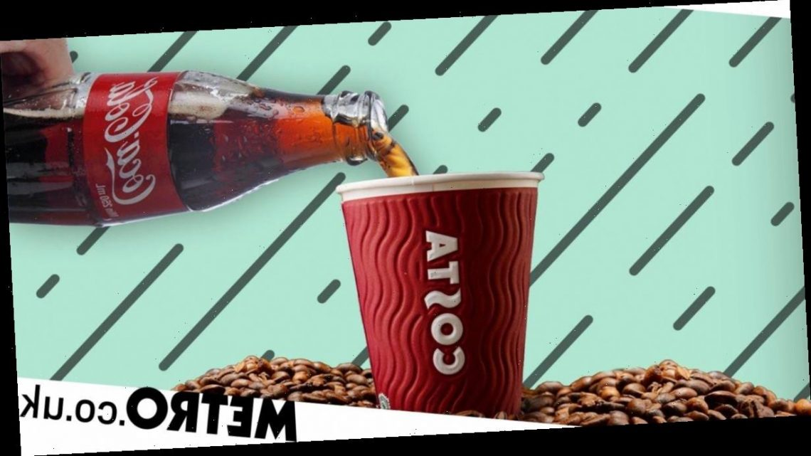 Costa is serving Coca-Cola coffees and, yes, we're confused too