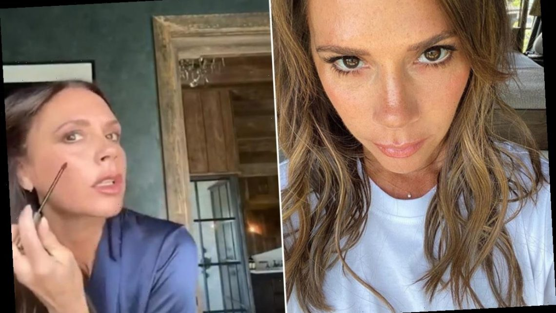 Victoria Beckham just revealed a glimpse of her Cotswolds bedroom – see inside