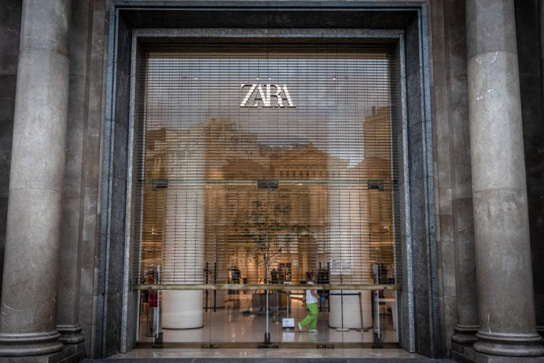 Zara owner to close 1,200 stores globally