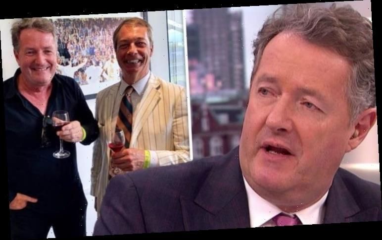Piers Morgan hits out as photo of him and Nigel Farage resurfaces 'How things used to be'