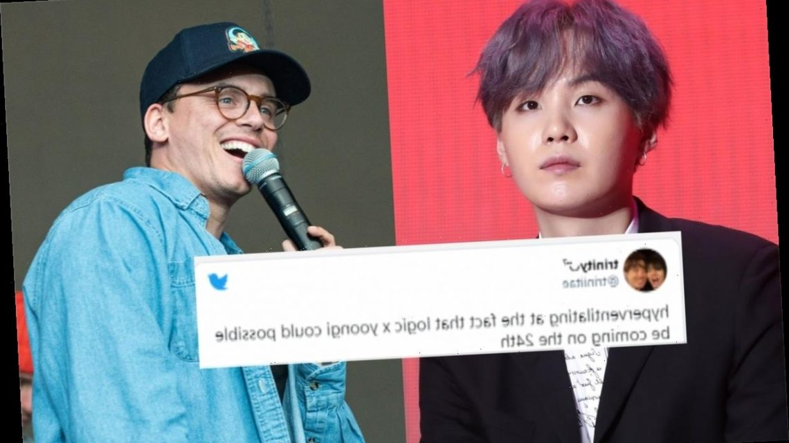 Is BTS' Suga Collaborating With Logic? ARMYs Are Convinced They're Dropping A Song