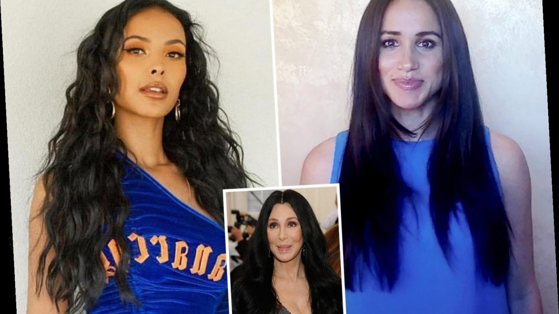 Celebs including Meghan Markle & Maya Jama are bringing back 'Cher hair' for the summer & here's how to get the look…